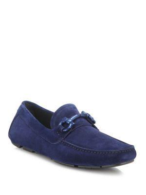 Mens Shoes On Sale, Brown, suede, 2017, 6.5 9 Salvatore Ferragamo