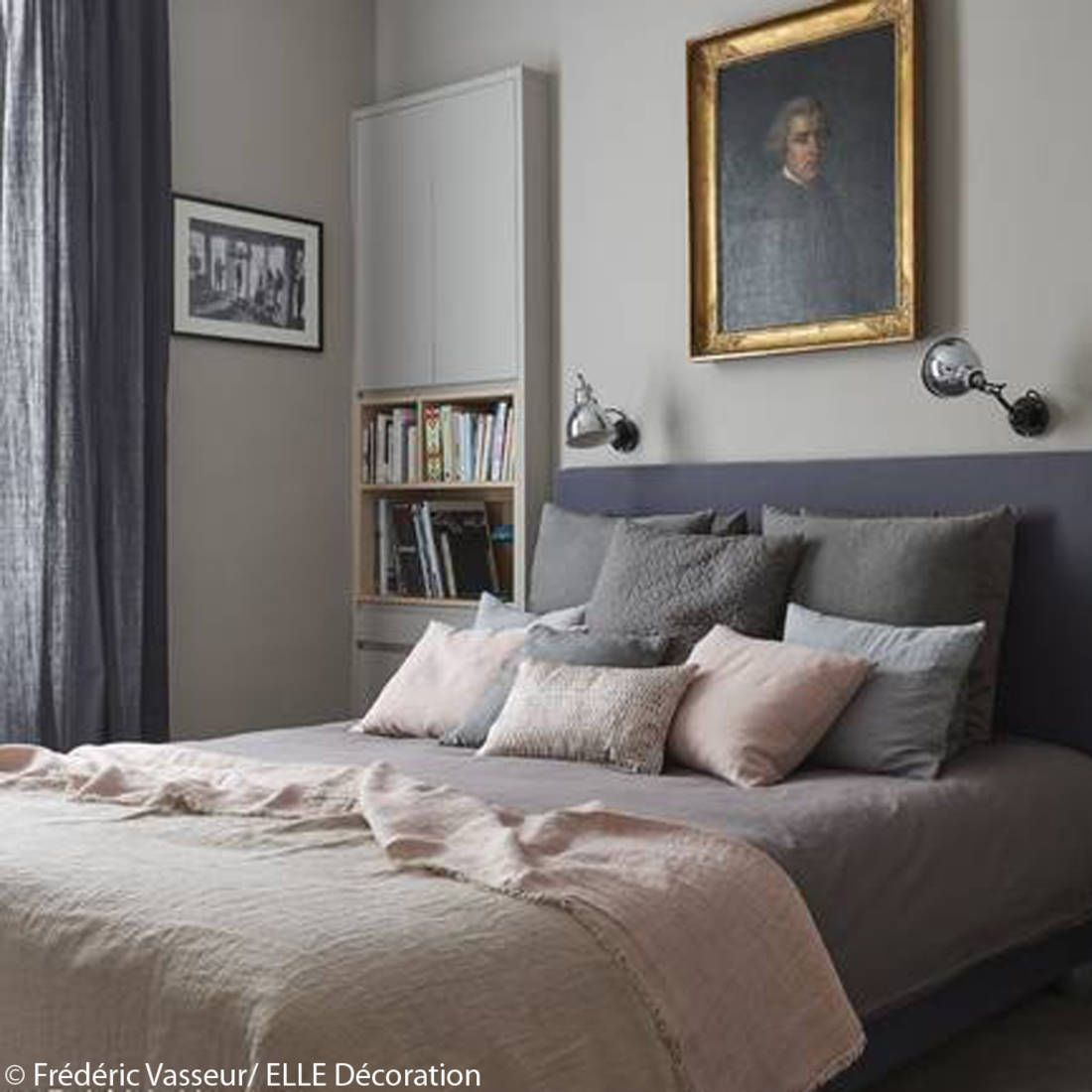 idee deco n 2 une chambre avec une tete de lit capitonnee chambre