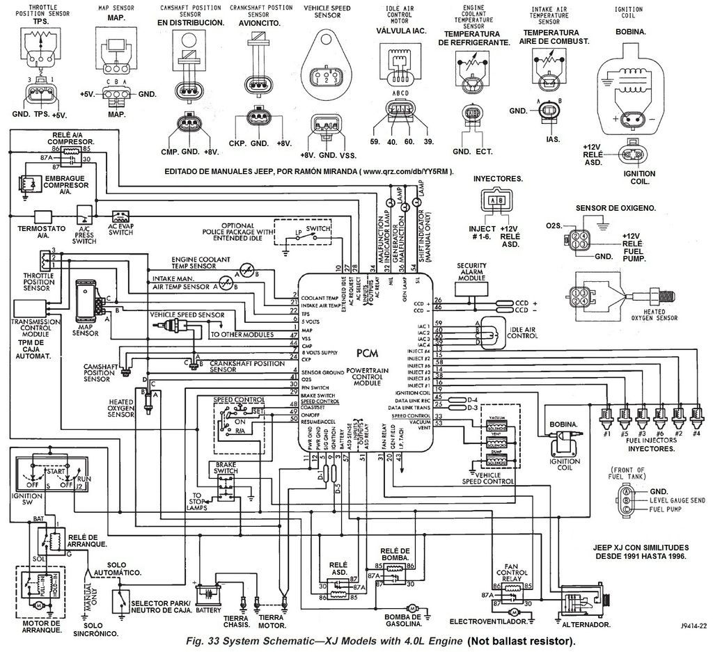 2000 toyota Diagrama del motor