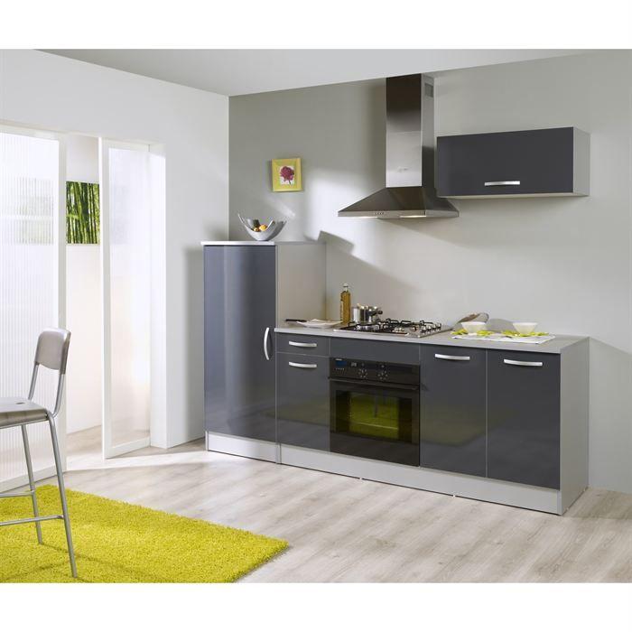meubles cuisine gris foncé | future maison cuisine | Pinterest ...