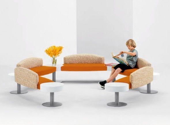 Modular Furniture Kids Children Seating Design Islettes Arcadia