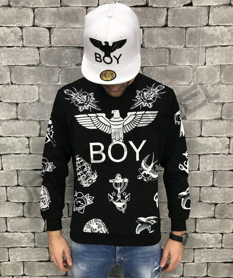 797033933f6a FELPA BOY LONDON NERA UOMO ART.BL678-BLK | Boy London | Boy london ...