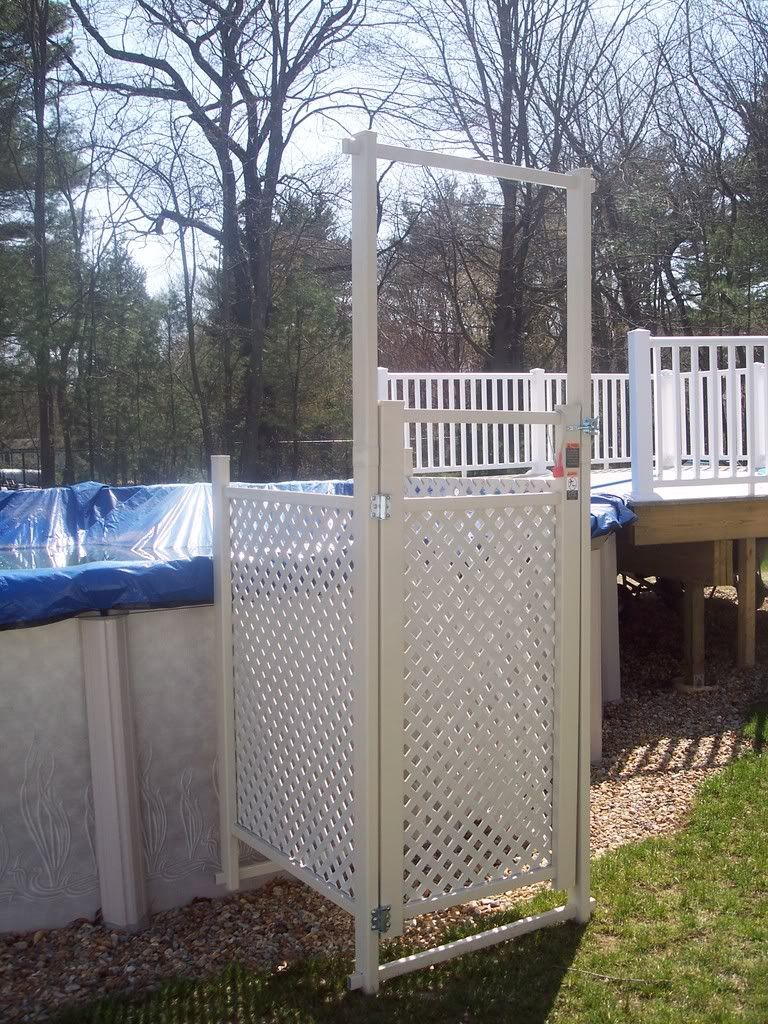 Above Ground Pool With Gates Above Ground Pool Ladder And Enclosure Gate For Sale Pool Ladder Above Ground Pool Ladders In Ground Pools
