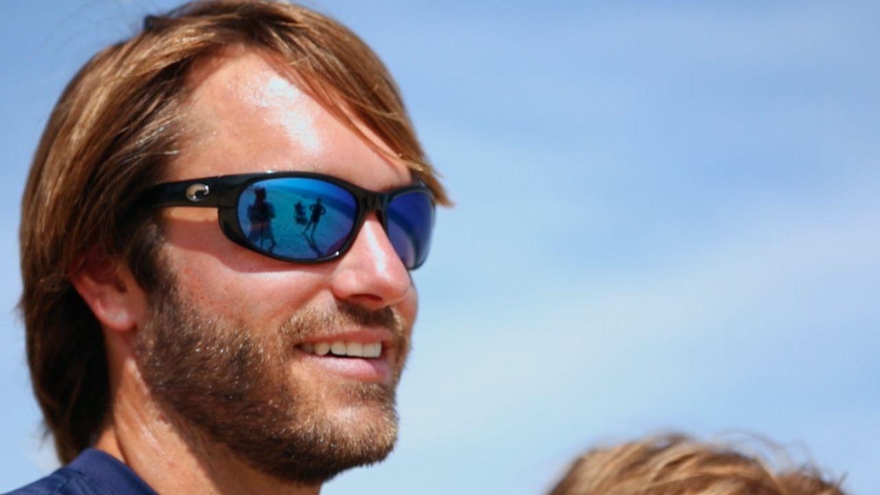 448fd8e329d Howler with Blue Mirror Lens   Shiny Black Frame from Costa Sunglasses