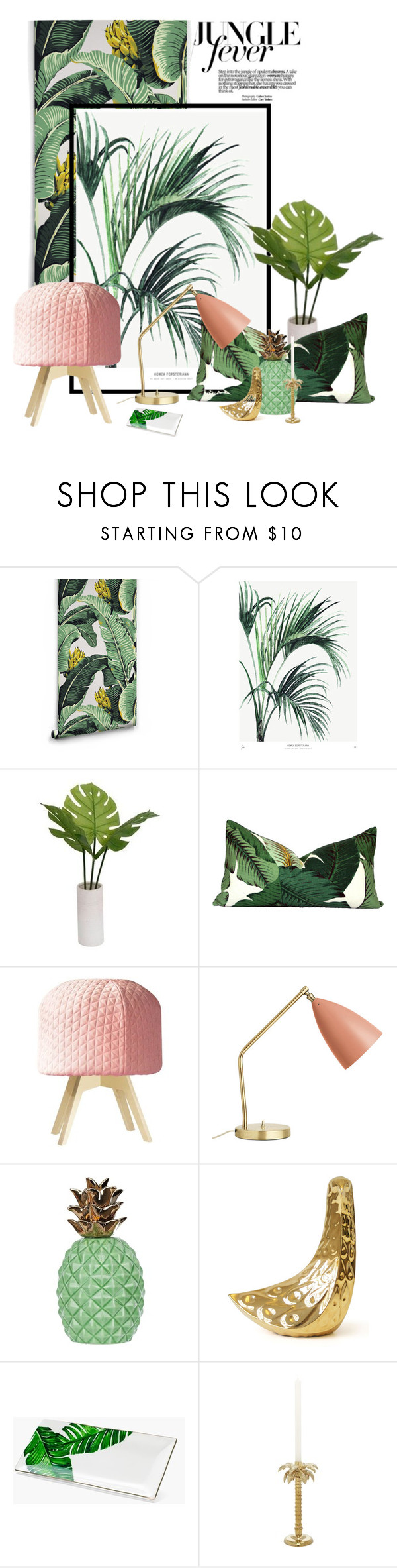 Threshold home decor shop for threshold home decor on polyvore -  Jungle Fever By Saphiralol Liked On Polyvore Featuring Interior Interiors Interior