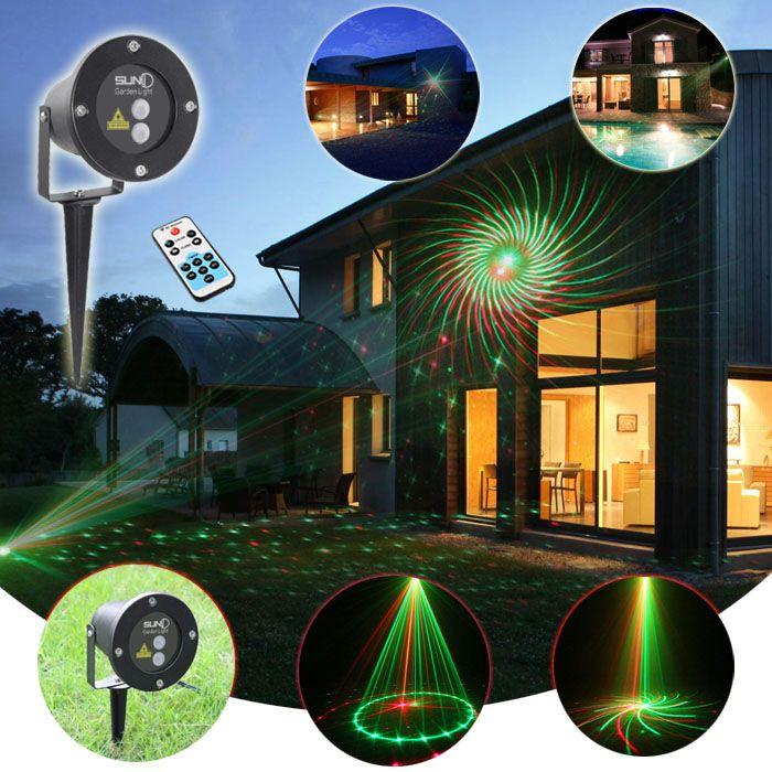 Outdoor Waterproof Latest Laser Light Christmas Lights Projector Garden Grass Landscape Decora With Images Led Landscape Lighting Laser Christmas Lights Landscape Lighting