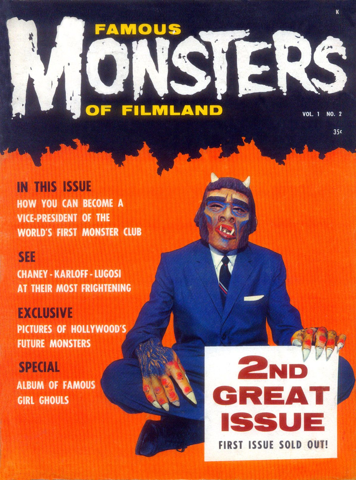 Famous Monsters of Filmland #2 (1958)