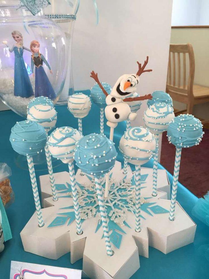 Disney Frozen Cake Push Pops