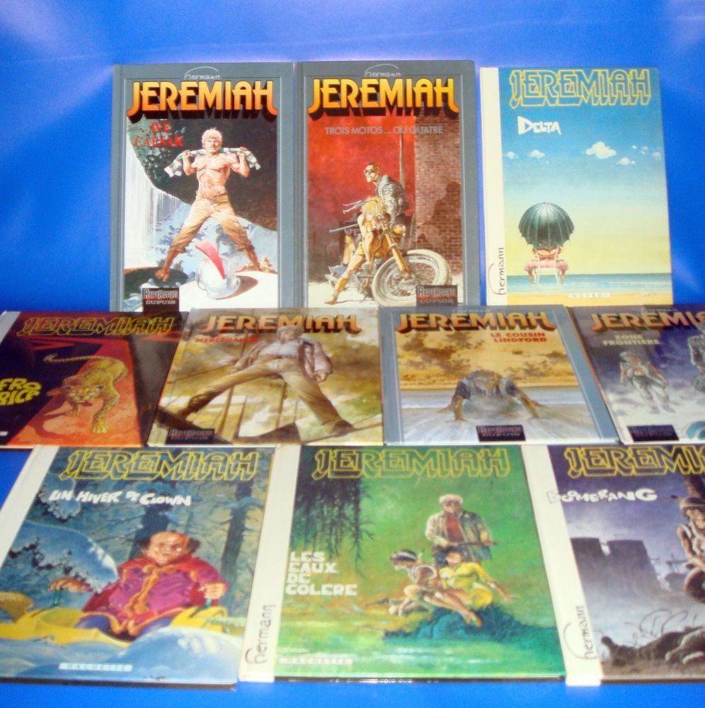Comic en frances JEREMIAH-10 TOMOS-BUEN ESTADO