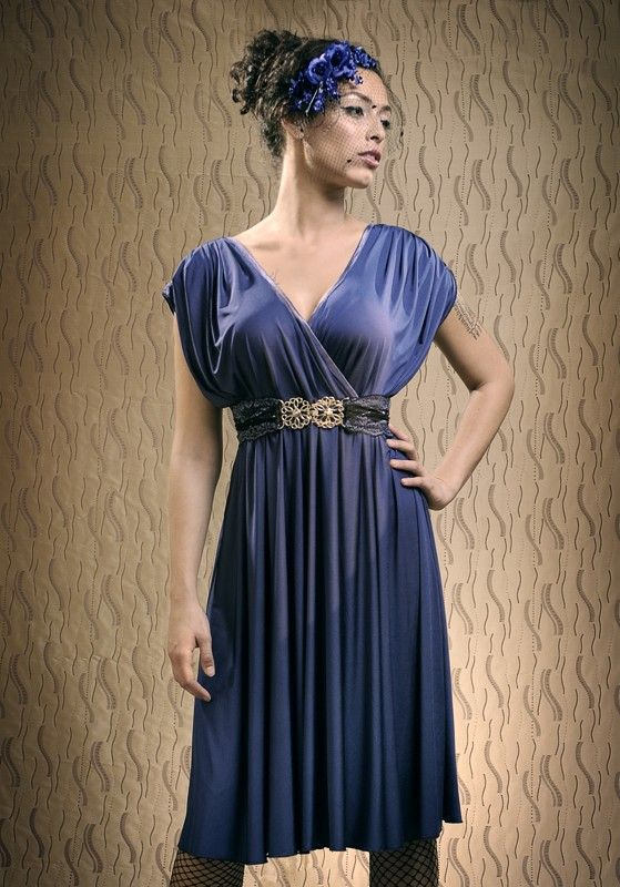 Dress and belt, thank you :) Lilybrush evening dress ...