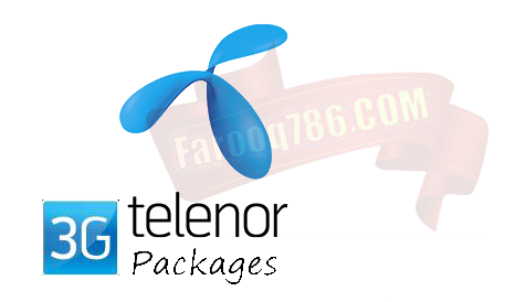 Telenor 3g Internet Packages Daily Weekly Monthy Internet Packages 3g Internet Packaging
