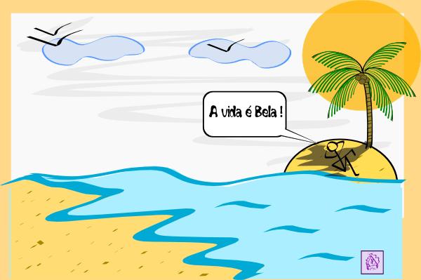 Island Palm Tree Water