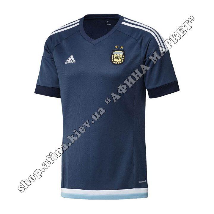 Футболка Аргентины 2016 Adidas выездная