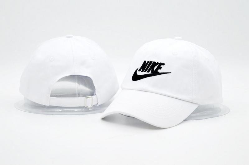 c921d336d2d ... cheap mens womens unisex nike futura true iconic logo signature  baseball adjustable dad hat white black