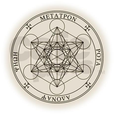 Seal Of Archangel Metatron Necklace Archangels Pinterest Angel