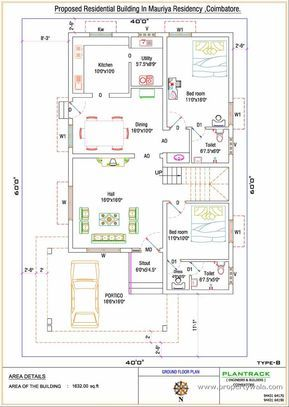 Duplex House Plan For North Facing Plot 22 Feet By 30 Feet 2 30x40 House Plan North Facing Unforgettable 30x40 House Plans Free House Plans Indian House Plans
