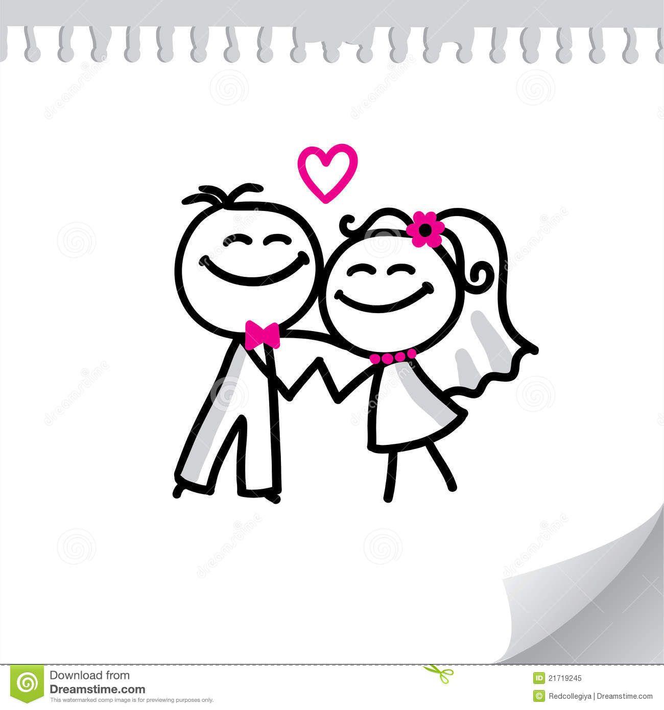 mariage dessin anim google search - Dessin Mariage