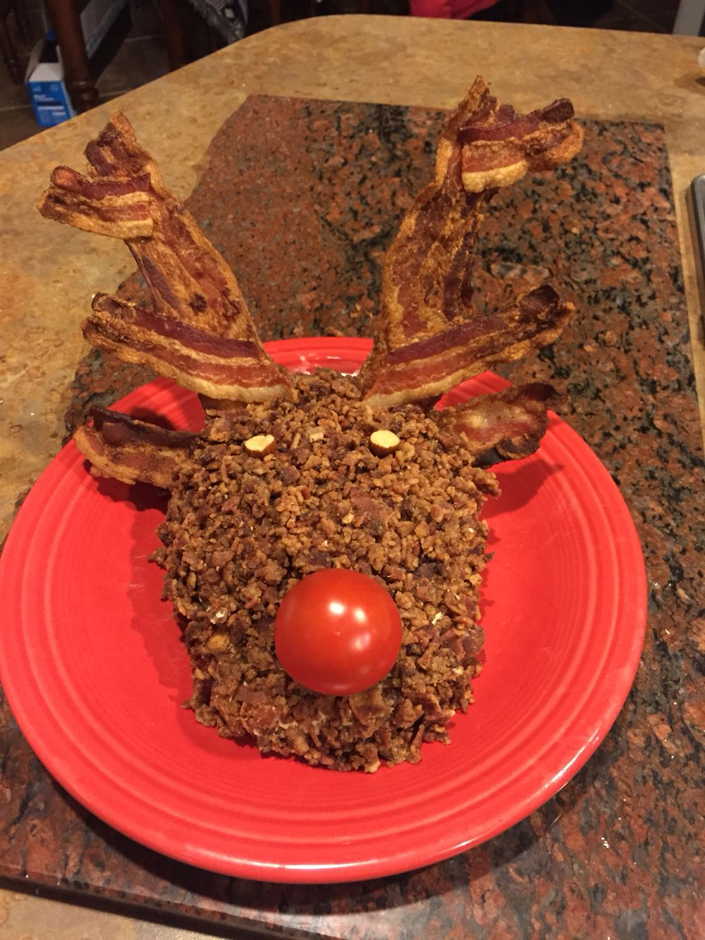 Reindeer rudolf bacon cheeseball recipes pinterest bacon christmas desserts forumfinder Choice Image