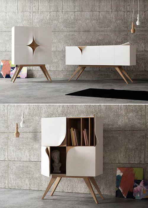 Furniture Design by Nicola Conti Italian product and interior designer Nicola Conti has created a beautiful and unique furniture series.