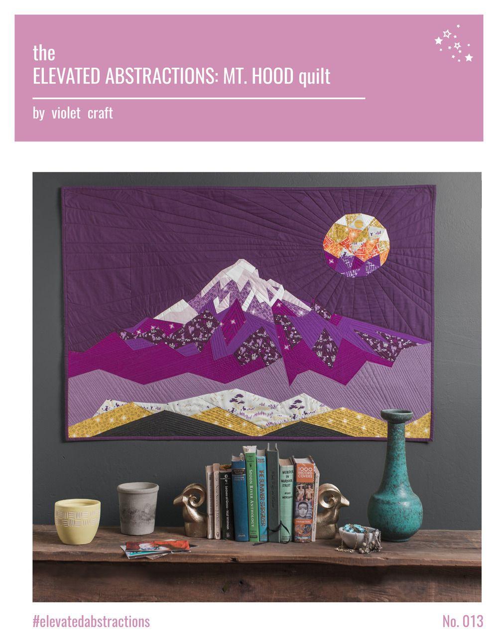 foundation pieced quilt PATTERN Love Hoppington Quilt Violet Craft