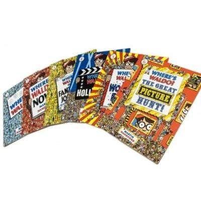 Libros de ¿Dónde esta Wally? ... Los quiero todos!!