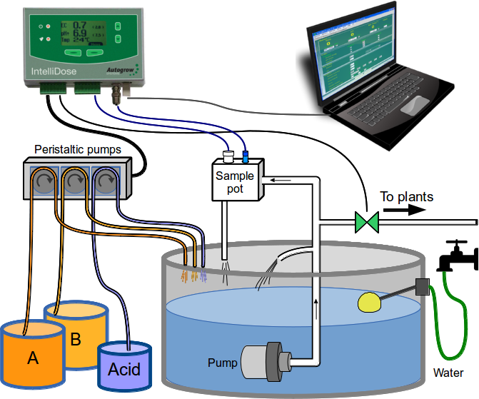 Automated dosing in hydroponics is it for me