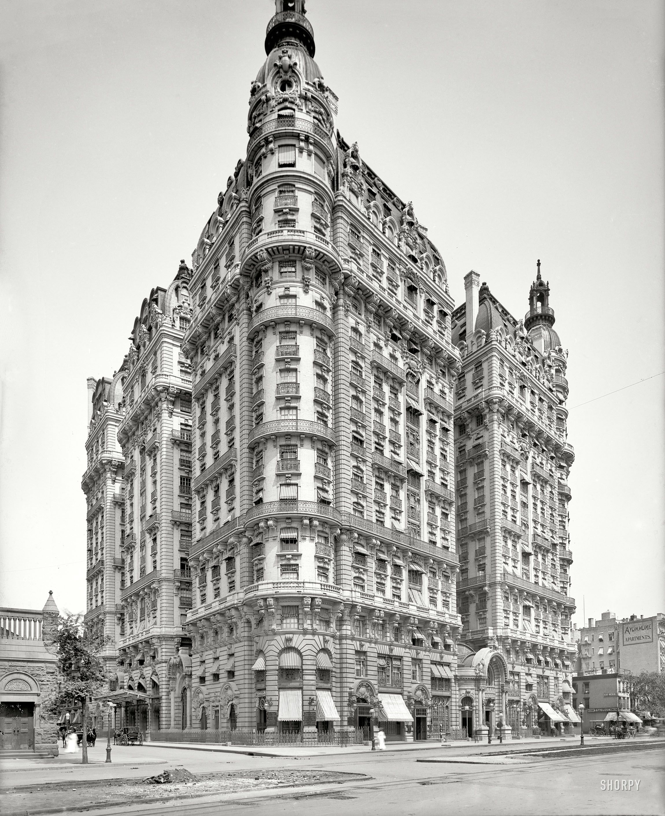 Shorpy Historical Photo Archive The Ansonia 1904