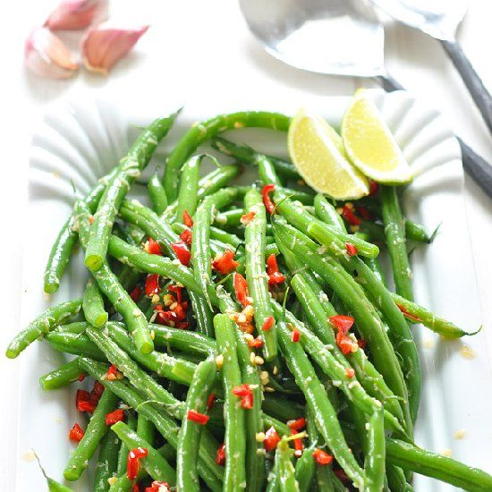 Garlic Green Beans - a perfect side dish!