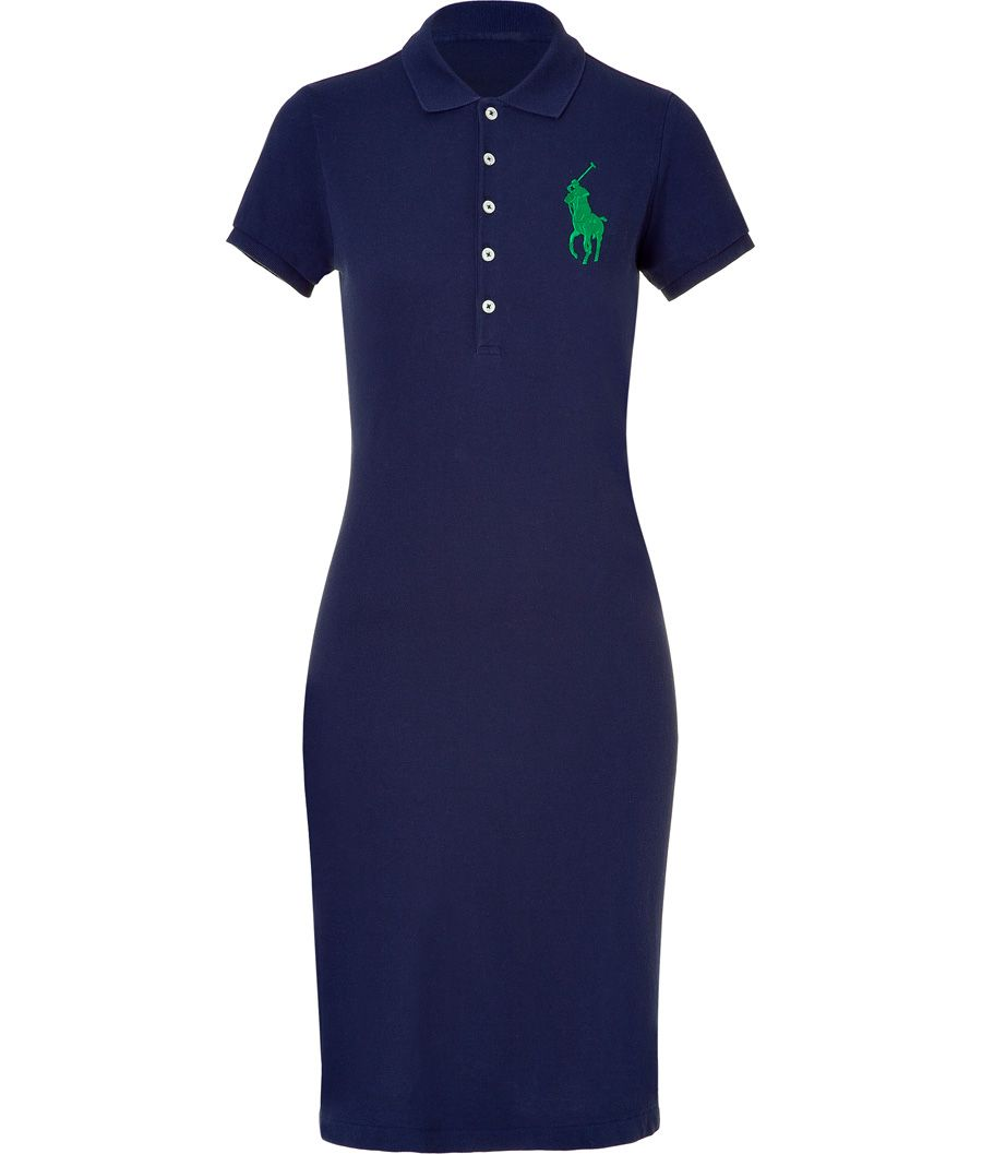 353572b9c Polo Ralph Lauren Newport Navy Big Logo Polo Dress ... | My Style