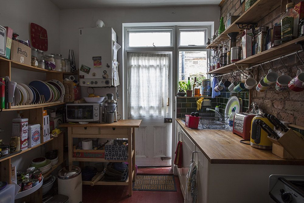 less counter action shelves instead one bedroom flat on kitchen shelves instead of cabinets id=60496
