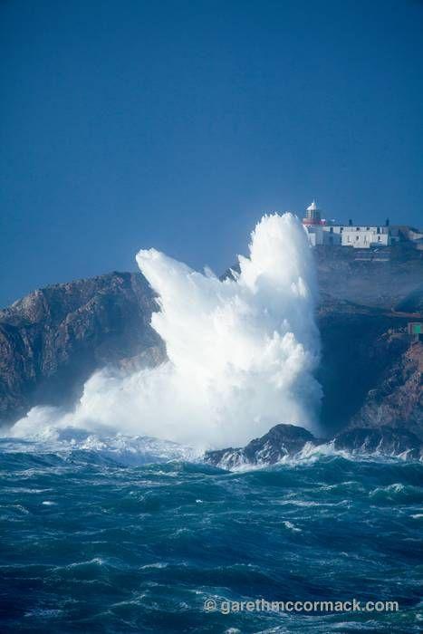 Eagle Island Lighthouse ⚓ Belmullet, County Mayo, Ireland.
