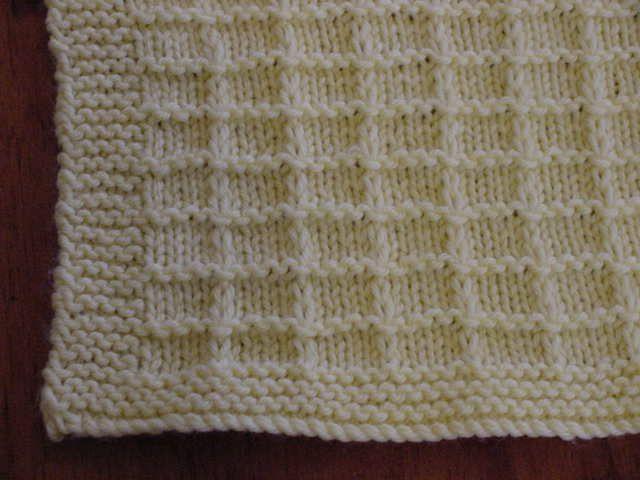 Waffle Preemie Blanket | Knitting :D | Pinterest | Cobija, Manta y ...