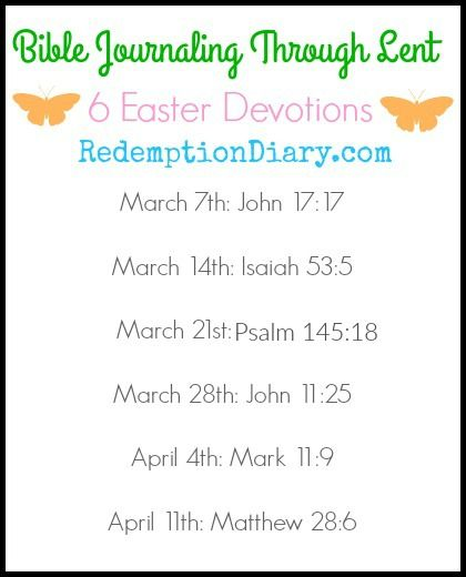 Download Bible Jounraling through Lent Scripture cards with ...