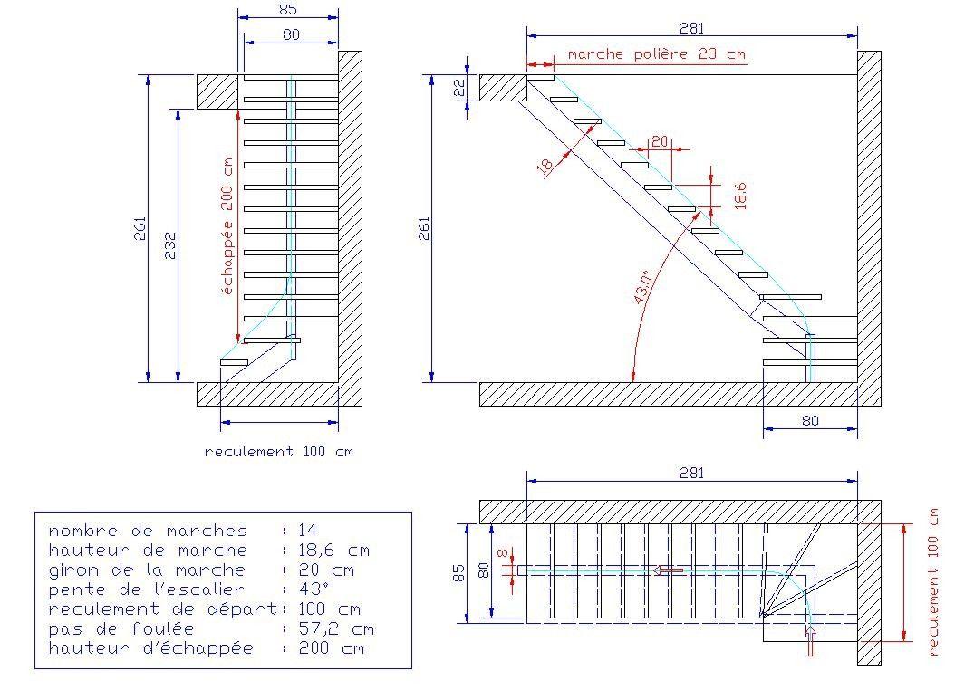 Calcul Un Escalier Quart Tournant En Feuille Excel Calculet Calcul