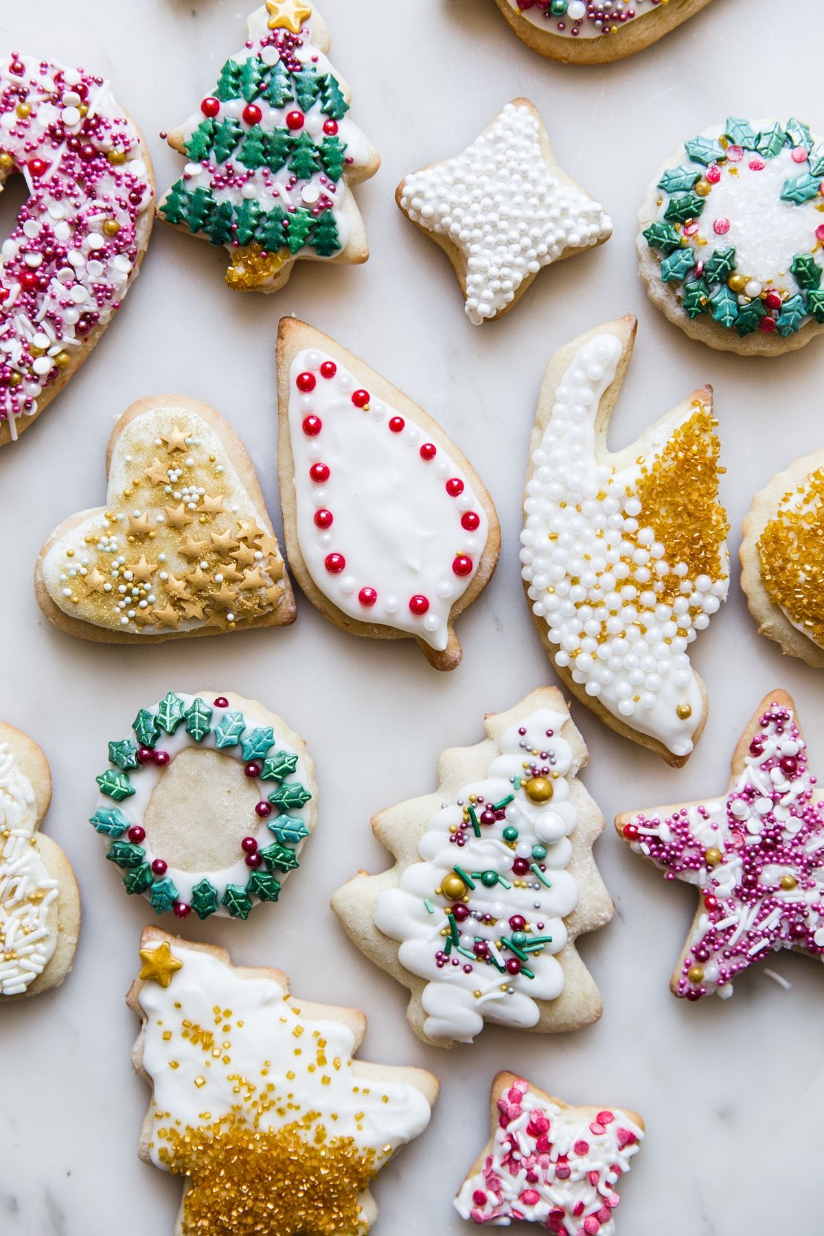 Sour Cream Sugar Cookies Recipes Holiday Cookie Recipes Butter