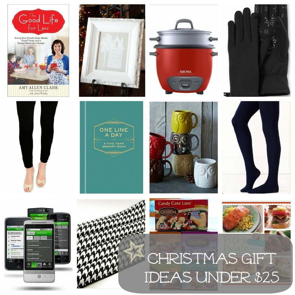 Christmas Gift Ideas Under $25 For the Ladies | Christmas ...