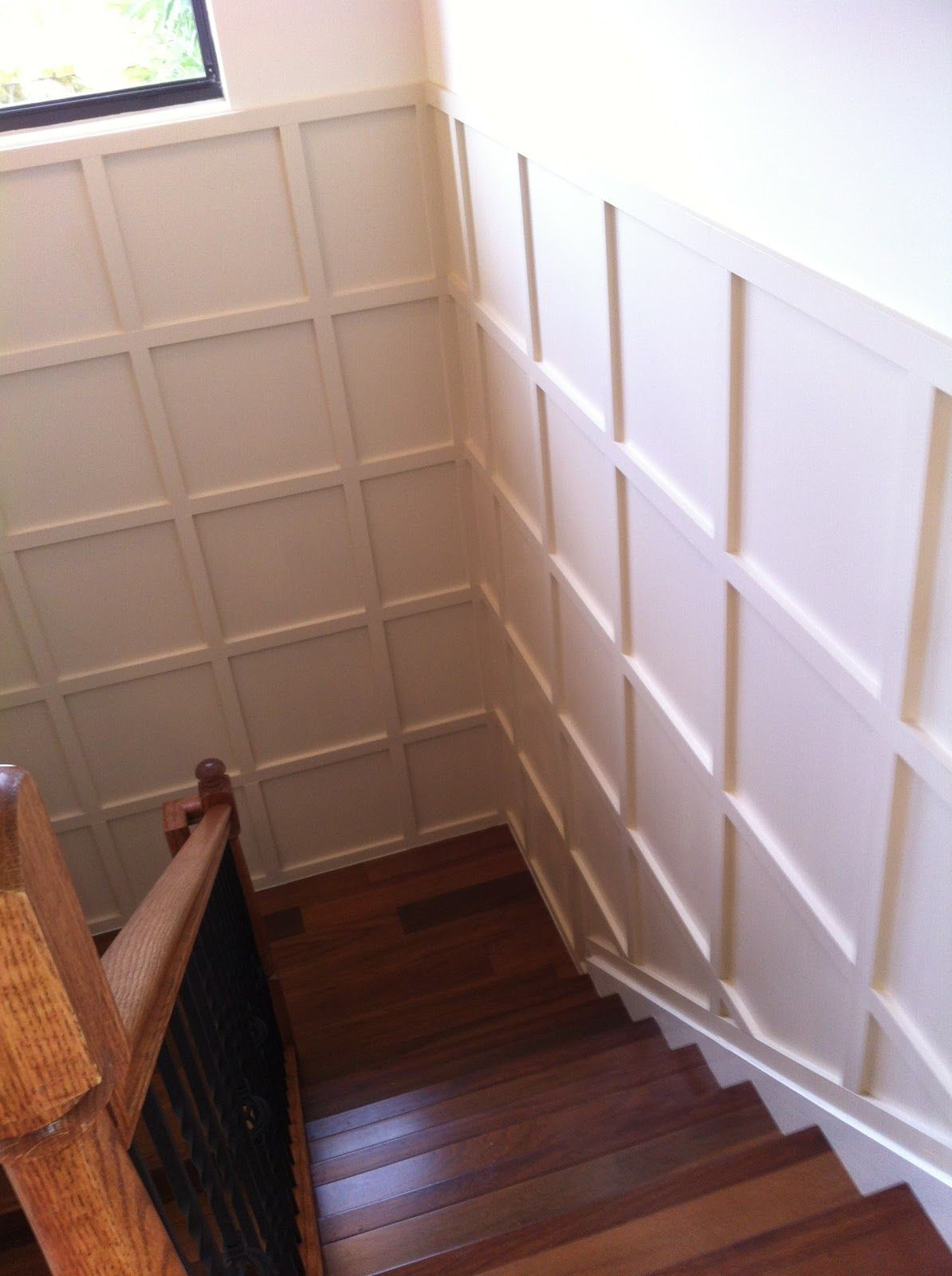 wainscoting staircase design idea | Molding and Wainscoting ...