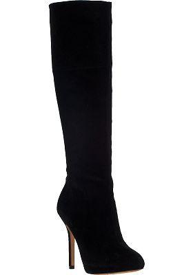 Sam Edelman - Empire Tall Boot Black Suede