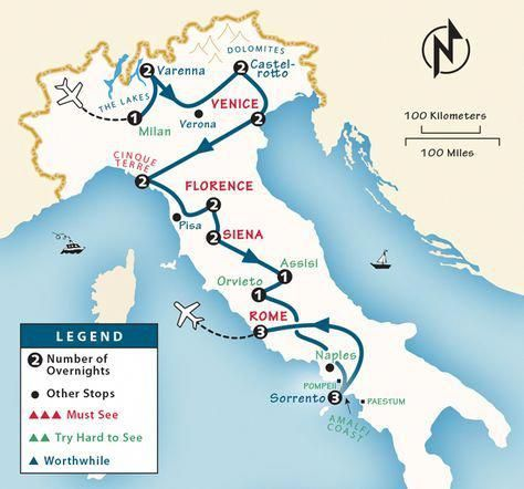 Italy Itinerary: Where and When to Go to Italy by Rick ...