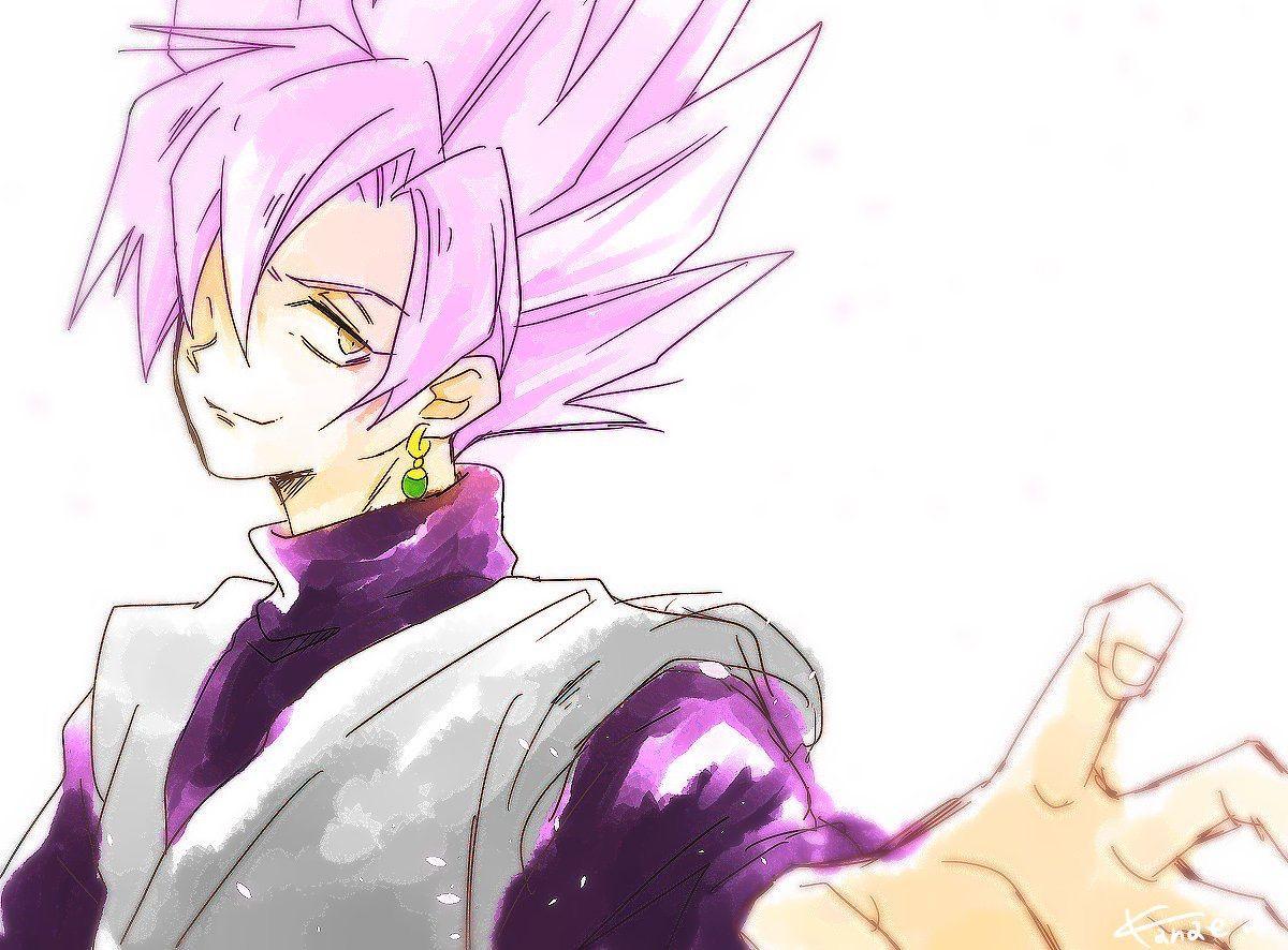 Goku Black Ssj Rose Para Colorear: Black Goku Ssj Rose