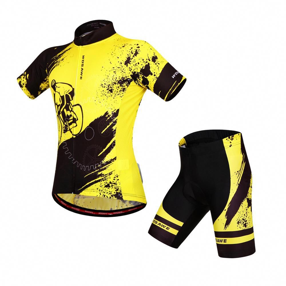 c8fd8f188 Cool Cycling Jersey and Short Sets Features  Unique mesh fabric under the  armpit for keeping