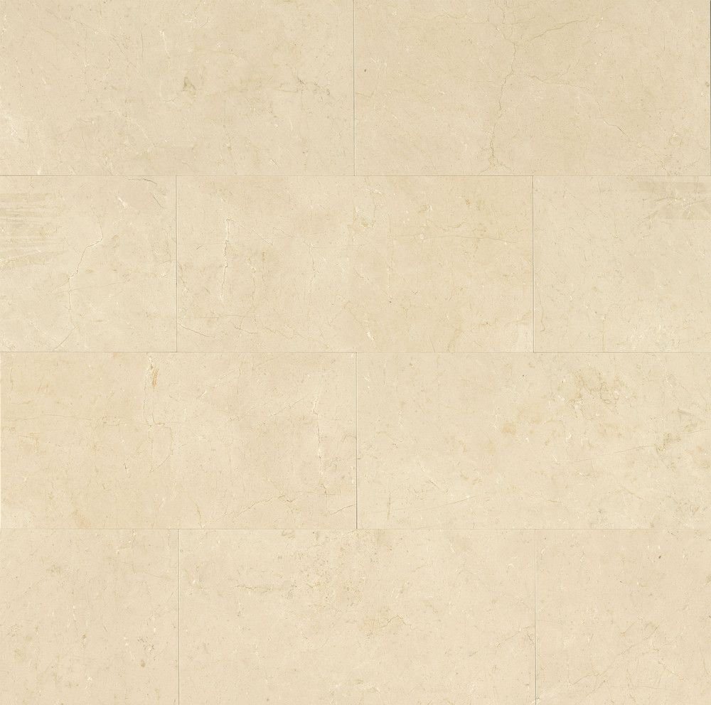 "Stone Wall Accent Crema Marfil Floor: Crema Marfil Select 12"" X 24"" Floor & Wall Tile"