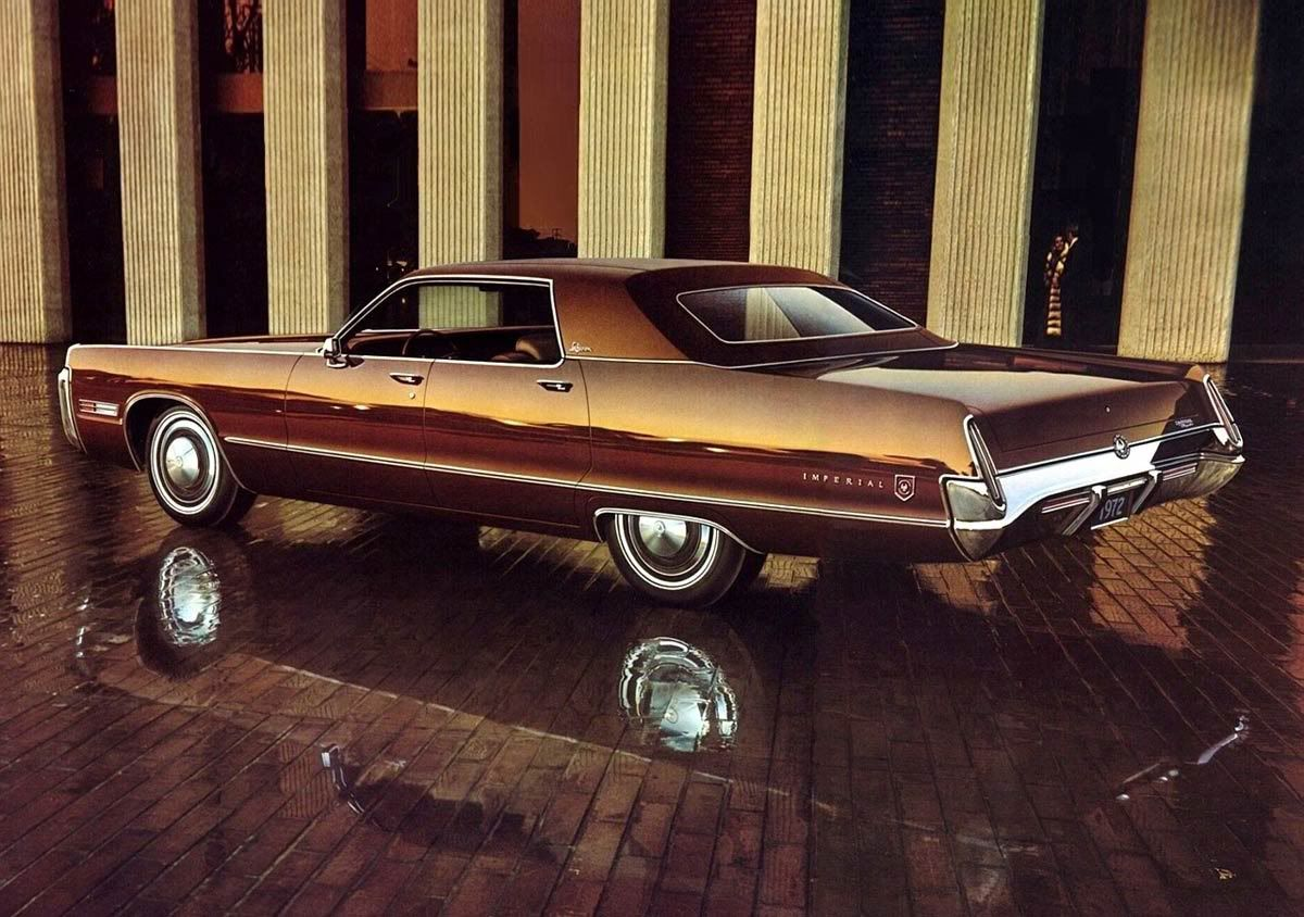 1973 Imperial Lebaron 4dr Hardtop Longest Production Car In North