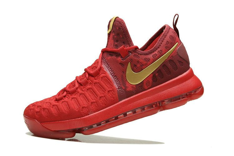ea7c7c4b7d6 How To Buy KD 9 IX China Red 2016 Rio ID Gold Mens Basketball Shoes 2018 On  Sale