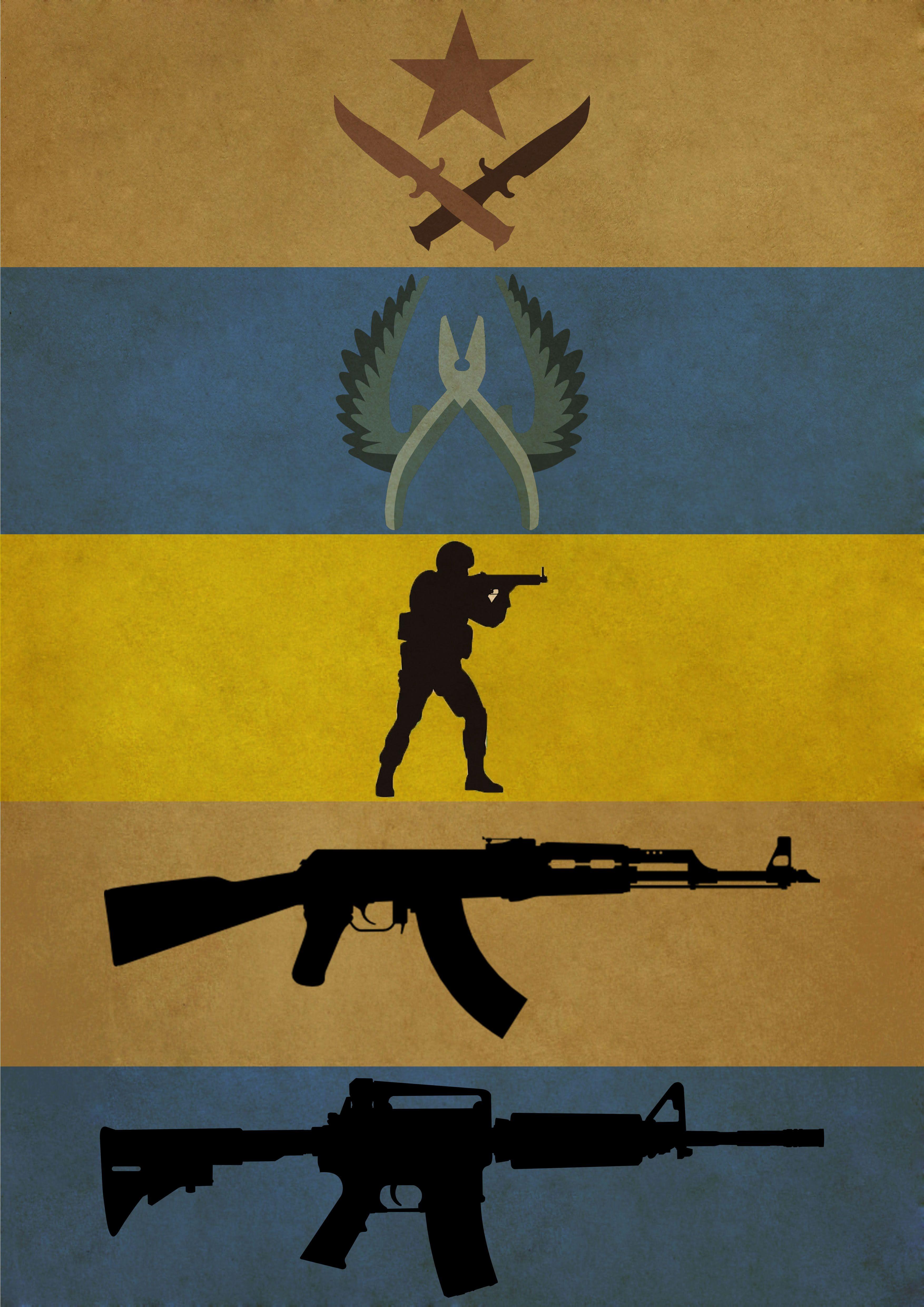 Counter Strike Poster i made