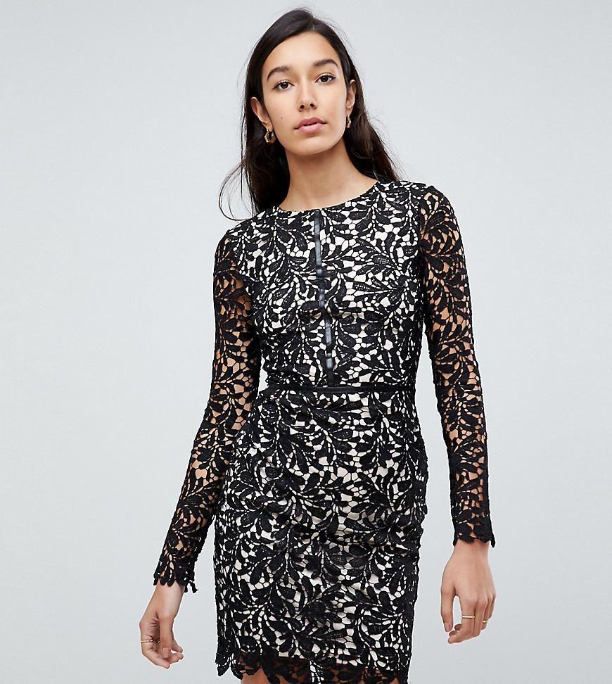 1f116a75 #ASOS - #Parisian Tall Parisian Tall Lace Shift Dress - Black - AdoreWe.