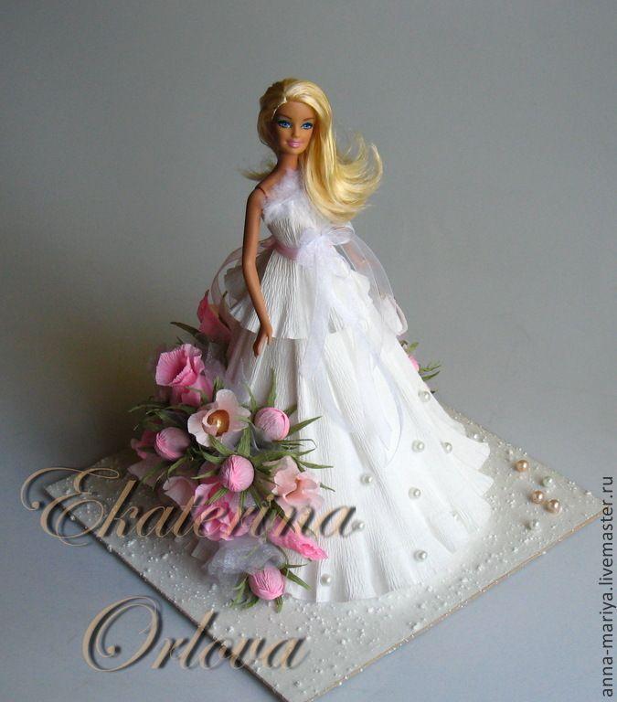 Мастер класс платье из конфет для барби