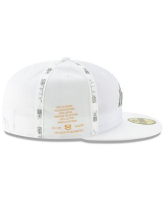 new style 9a7c2 76740 New Era Los Angeles Lakers Inside Out 59FIFTY-fitted Cap - White 7 1 8