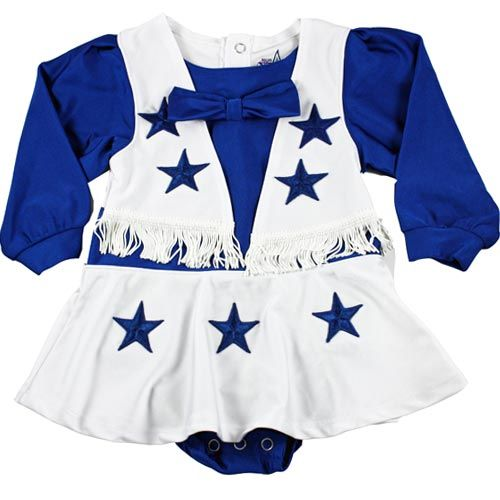 Dallas Cowboys Authentic Cheerleader Outfit