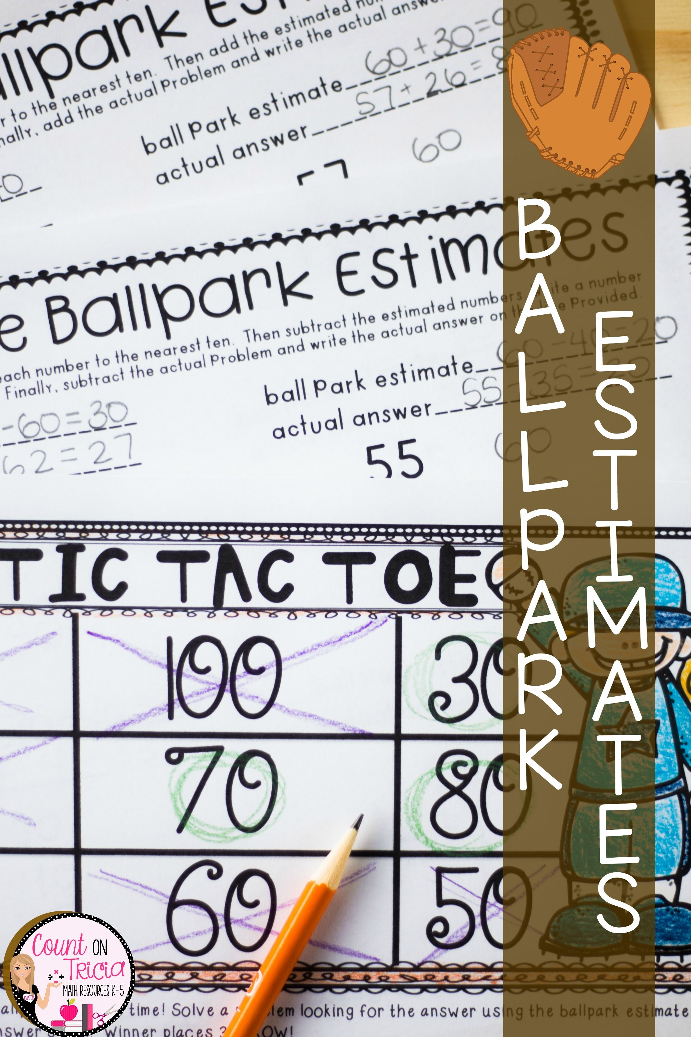 hight resolution of Ballpark Estimates   Elementary school math activities